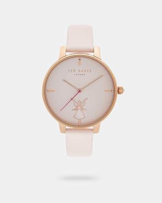 Ted Baker FARIYA Fairy dial leather strap watch