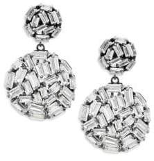 Saks Fifth Avenue Crystal Ball Drop Earrings