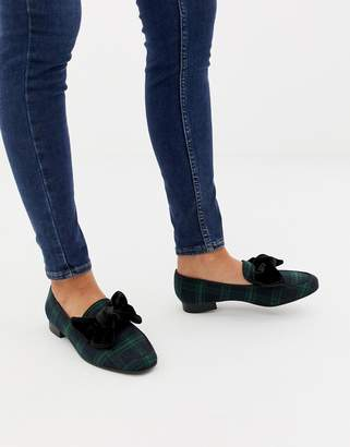 Asos Design DESIGN My Girl bow loafer
