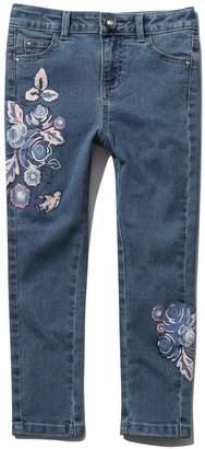 M&Co Floral print jeans