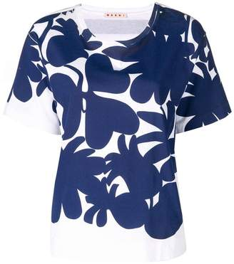 Marni floral short-sleeve T-shirt