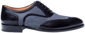 Mezlan Cantone Leather & Suede Oxford