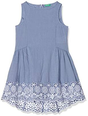 Benetton Girl's Dress,(Manufacturer Size: Medium)