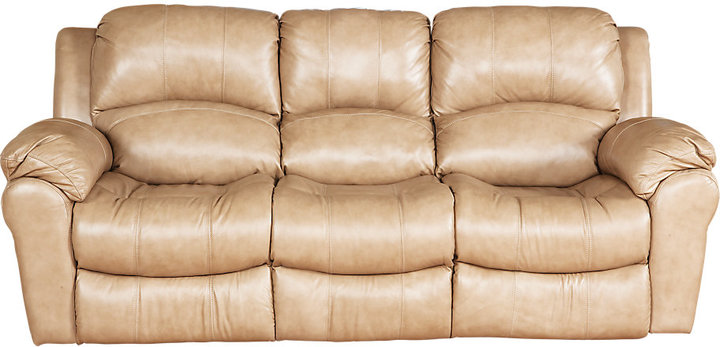 Casaro Toffee Leather Power Sofa