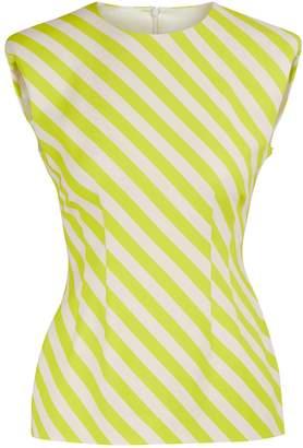 Dries Van Noten Sleeveless striped blouse