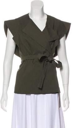 Isabel Marant Short Sleeve V-Neck Top