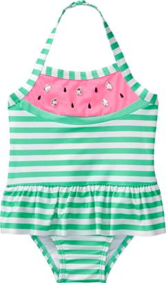 Gymboree Melon 1-Piece Swimsuit