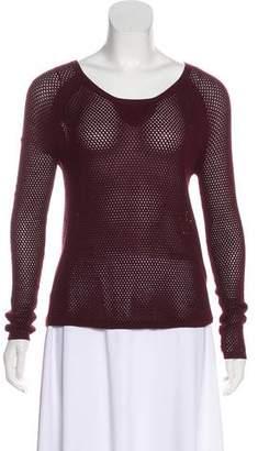 Rag & Bone Knit Long Sleeve Top