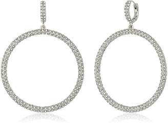 Vince Camuto Long Pave Earrings