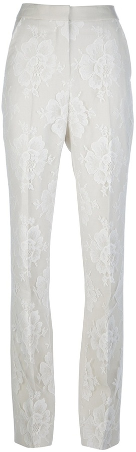 Stella McCartney lace tailored trouser