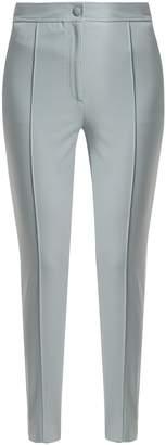 Joseph Juno stirrup-hem cotton-blend trousers