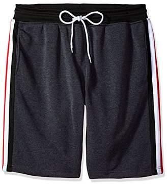Southpole Men's Big and Tall Fleece Jogger Shorts