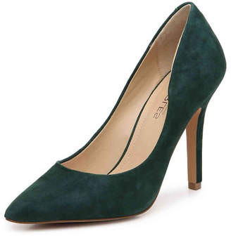 Charles by Charles David Green Suede Pump