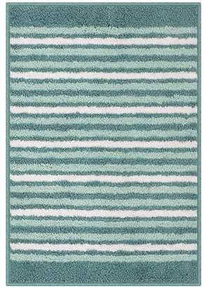 "Mainstays Polyester Stripe 17""x24"" Bath Rug, Multiple Colors"