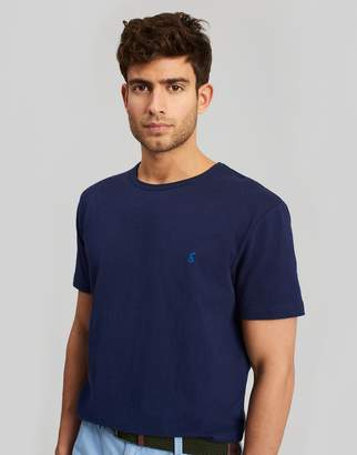 Joules FRENCH NAVY Laundered tee Plain Crew Neck T-Shirt Size XXL