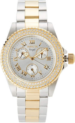 Invicta 16998 Two-Tone Angel Collection Chronograph Watch