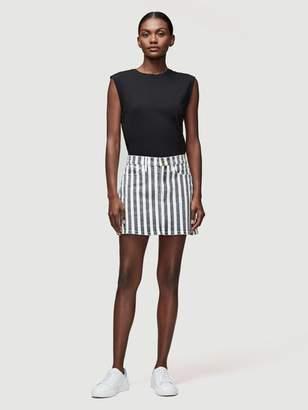 Frame Le Mini Skirt Beatnik Stripe