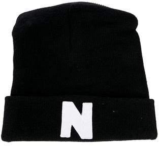 Nicopanda Wool Zipper-Embellished Beanie
