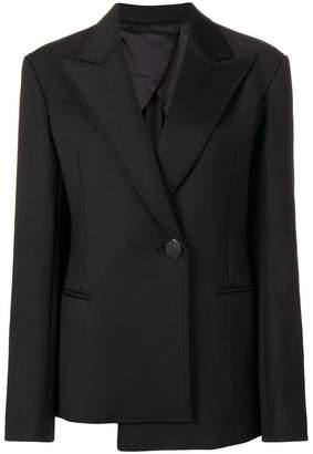 Helmut Lang asymmetric blazer jacket