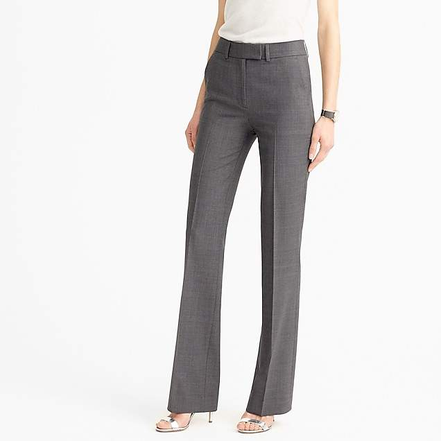 Tall Preston pant in Italian stretch wool