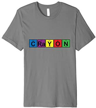 CRaYON T-Shirt - periodic table of elements