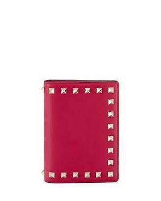 Valentino Rockstud Passport Cover Case