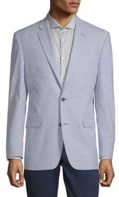 Tommy Hilfiger Stripe Notch Lapel Jacket