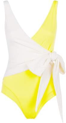 Lisa Marie Fernandez Dree Wrap-Around Swimsuit