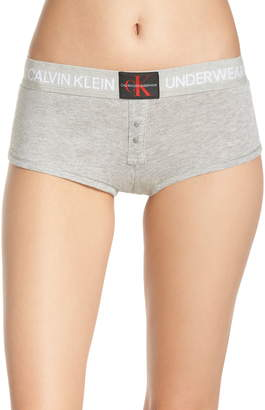 Calvin Klein Monogram Mesh Boyshorts