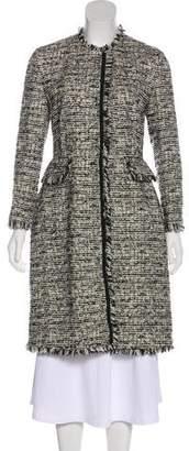 Giambattista Valli Knee-Length Tweed Coat