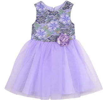 Pippa & Julie Enchanted Forest Lace Ballerina Dress