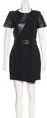 The Kooples Short Sleeve Mini Dress3