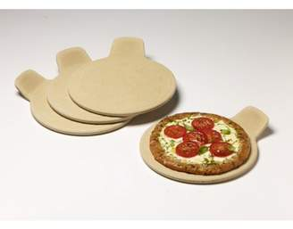 Brick Oven Ceramic Set of Four Eight Inch Pizza Grilling Stones