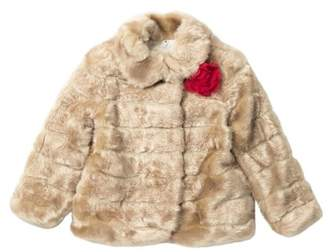 Kate Spade faux mink fur coat (Toddler & Little Girls)