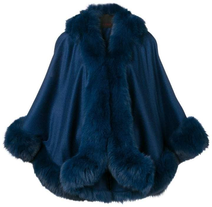 Liska short cape jacket