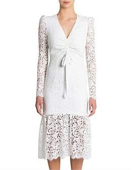 Rebecca Vallance Le Saint Ruched Dress