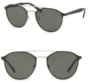 964700487aba new arrivals prada round sunglasses for men 0fb5a 18275  cheap prada 54mm  polarized round sunglasses e3a63 e6856