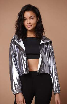 Ivy Park Metallic Cropped Jacket