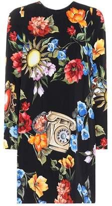 Dolce & Gabbana Telephone floral dress