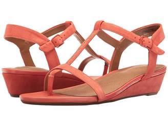 Clarks Parram Blanc Women's Sandals