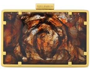 Tory Burch Printed Resin Clutch