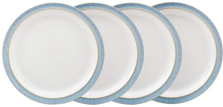 Elements 4-piece Medium Plate Set – Blue