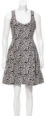 Prabal Gurung Scoop Neck Mini Dress