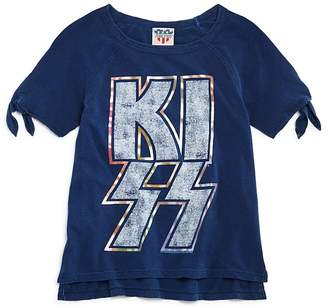 Junk Food Clothing Girls' Kiss Tee - Big Kid
