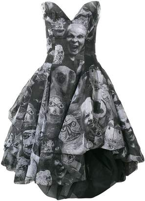 Vivienne Westwood printed puffball dress