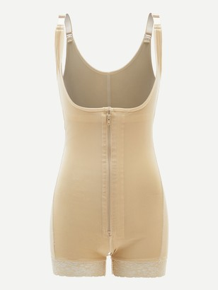 Shein Zip-up Shapewear Bodysuit
