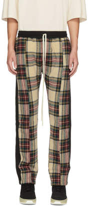 Fear Of God Multicolor Plaid Baggy Lounge Pants