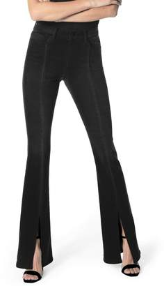 Joe's Jeans Flawless - High Waist Front Vent Microflare Jeans