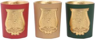 Cire Trudon Odeurs D'hiver Set Of 3 Travel Candles