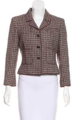 Chanel Tweed Structured Blazer